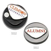 Clemson Tigers University Ball Marker CLEMSON WORD/ALUMNI