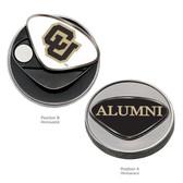 """Colorado Buffaloes Alumni  Ball Marker UNIV COLORADO """"CU""""/ALUMNI"""