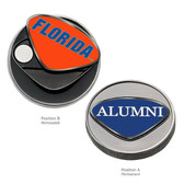 Florida Gators Alumni Ball Marker FLORIDA WORD/ALUMNI