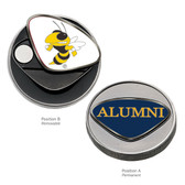 Georgia Tech Yellow Jackets Alumni Ball Marker GEORGIA TECH BEE/ALUMNI