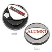 Illinois Fighting Illini Alumni  Ball Marker ILLINOIS WORD/ALUMNI