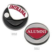 Indiana Hoosiers Alumni  Ball Marker