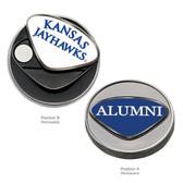 Kansas Jayhawks Alumni Ball Marker