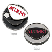 Miami Hurricanes Alumni Ball Marker