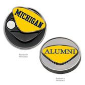 Michigan Wolverines Alumni Ball Marker
