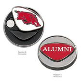 Arkansas Razorbacks Alumni  Ball Marker BIG RED