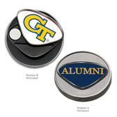 "Georgia Tech Yellow Jackets Alumni Ball Marker  ""GT"""