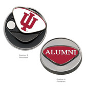 Indiana Hoosiers Alumni  Ball Marker IU