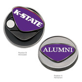 Kansas State Wildcats Alumni Ball Marker K STATE WORDS/ALUMNI