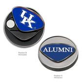 """Kentucky Wildcats Alumni Ball Marker """"KU"""""""