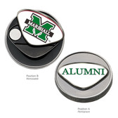 Marshall Thundering Herd Alumni Ball Marker CAPITAL M