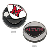 Miami Hurricanes Alumni Ball Marker CAPITAL M/ALUMNI