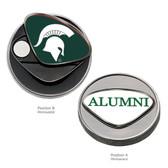 Michigan State Spartans Alumni Ball Marker SPARTY/ALUMNI