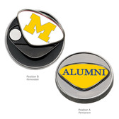 Michigan Wolverines Alumni Ball Marker M/ALUMNI