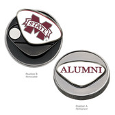 Mississippi State Bulldogs Ball Marker M STATE/ALUMNI