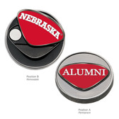 Nebraska Cornhuskers Alumni Ball Marker NEBRASKA HUSKERS/ALUMNI