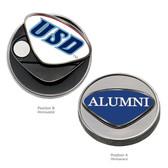 "San Diego Tritons Alumni Ball Marker UNIV. SAN DIEGO ""USD""/ALUMNI"