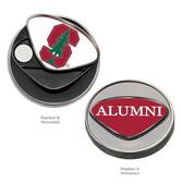 Stanford Cardinal Alumni Ball Marker  STANFORD CAPITAL S/ALUMNI