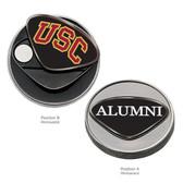 USC Trojans Alumni Ball Marker USC INITIALS/ALUMNI