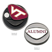"Virginia Tech Hokies Alumni Ball Marker Virginia Tech Hokies ""VT""/ALUMNI"