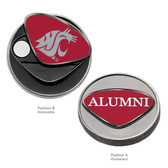 Washington State Cougars Alumni Ball Marker WASHINGTON ST. BUTCH T. COUGAR/ALUMNI
