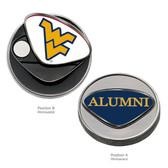 "West Virginia Mountaineers Alumni   Ball Marker WEST VIRGINIA ""WV""/ALUMNI"