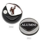 Wyoming Cowboys Alumni Ball Marker WYOMING COWBOY JOE/ALUMNI