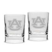 Auburn Tigers 15 oz Colonial Tankard-Set of 2