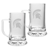 Michigan State Spartans 17.5 oz Maxim Mug - Set of 2