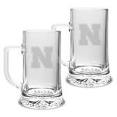Nebraska Cornhuskers 17.5 oz Maxim Mug - Set of 2