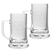 North Carolina Tar Heels 17.5 oz Maxim Mug - Set of 2