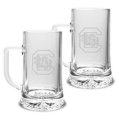 South Carolina Fighting Gamecocks 17.5 oz Maxim Mug - Set of 2