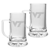 Virginia Tech Hokies 17.5 oz Maxim Mug - Set of 2