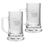 Kansas Jayhawks 17.5 oz Maxim Mug - Set of 2