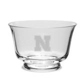Nebraska Cornhuskers Crystal Revere Bowl