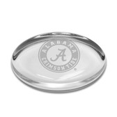 Alabama Crimson Tide Oval Paperweight