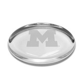 Michigan Wolverines Oval Paperweight