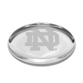 Notre Dame Fighting Irish Oval Paperweight