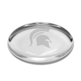 Michigan State Spartans Oval Paperweight