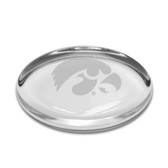 Iowa Hawkeyes Oval Paperweight