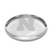 Nebraska Cornhuskers Oval Paperweight