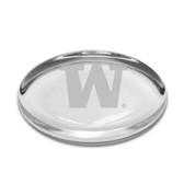 Washington Huskies Oval Paperweight