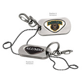 Baylor Bears Alumni Dog Tag Key Chain BAYLOR WORD/ALUMNI