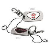 Texas Tech Red Raiders Alumni Dog Tag Key Chain TEXAS TECH RAIDER RED/ALUMNI