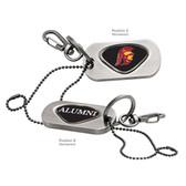 USC Trojans Alumni Dog Tag Key Chain USC MASCOT TROJANS/ALUMNI