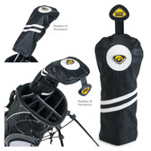 Iowa Hawkeyes Driver Headcover IOWA HAWK MASCOT/IOWA HAWKEYES WORDS