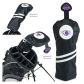 New York University Alumni Driver Headcover NYU CREST/ALUMNI