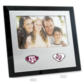 "Texas A&M Aggies  Photo Frame TEXAS A&M ""ATM""/TEXAS A&M STATE ATM"
