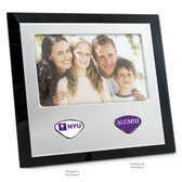 New York University Alumni Photo Frame NYU INITIALS/ALUMNI