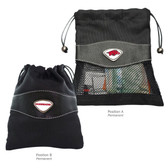 Arkansas Razorbacks Valuables Bag ARKANSAS BIG RED/ARKANSAS RAZORBACKS